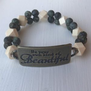 Be your own kind of beautiful diffuser bracelet
